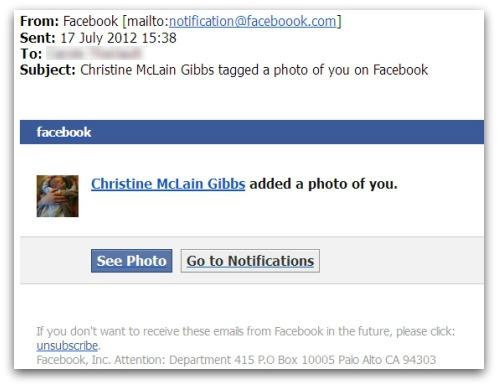Captura de uno de los emails infecciosos que se aprovecha del temor a ser etiquetados